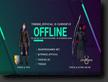 Offline Bild auf meinem Twitch Channel